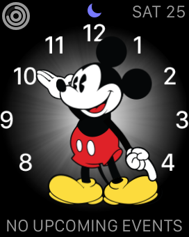 Apple Watch (Mickey Mouse clock)