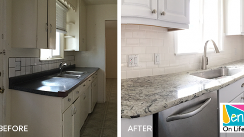 Beach Bungalow Kitchen Remodel: Before + After