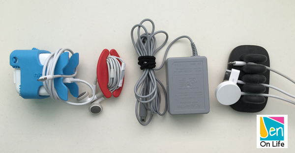Cord Management ideas to help keep your charging devices under control.