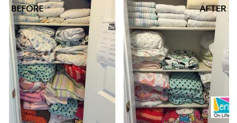 Organize Your Linen Closet