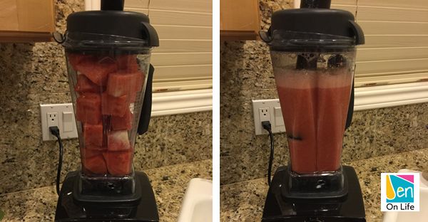 Watermelon Drink (Steps 3-4)