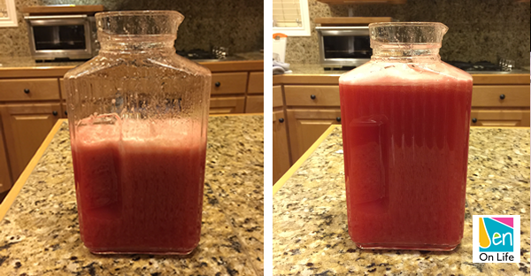 Watermelon Drink (Step 7)