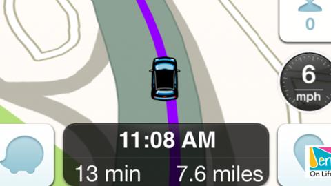 Waze the app