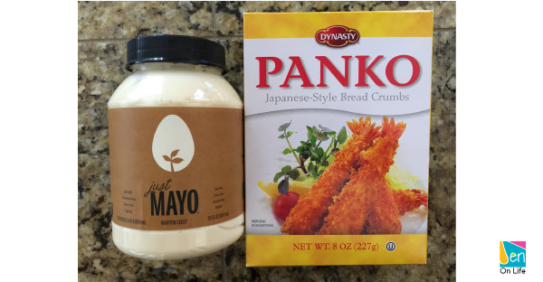 Chicken Panko ingredients
