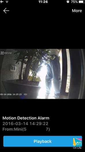 EZVIZ Mini Motion Sensing