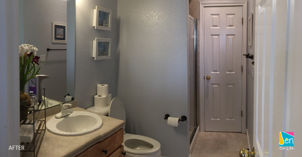Painting a Guest Bathroom - After