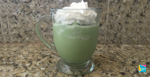 How to Make a Matcha Green Tea Shake