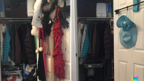 Organize your Coat Closet