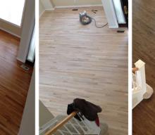 Restaining Floors