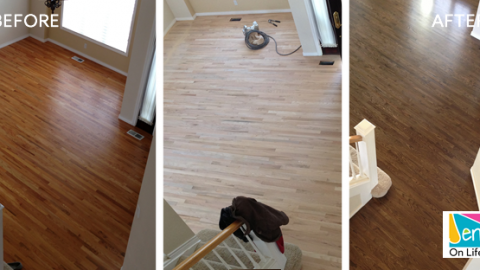 Restaining Floors