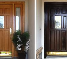 Restaining the Front Door