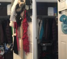 Organize your Coat Closet